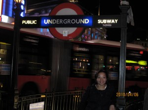 so London...